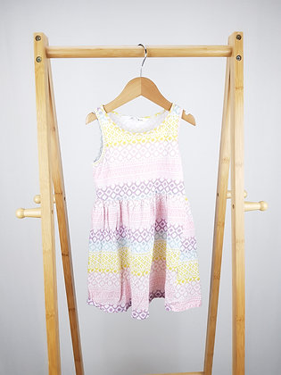 H&M patterned dress 2-4 years