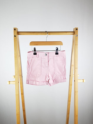 George pink shorts 5-6 years