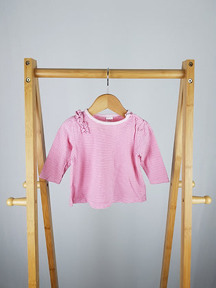 NEXT baby girl longsleeve top 3-6 months