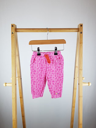 Pink monster joggers 3-6 months
