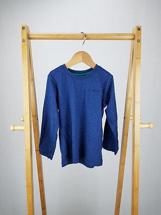 Matalan blue long sleeve top 2-3 years