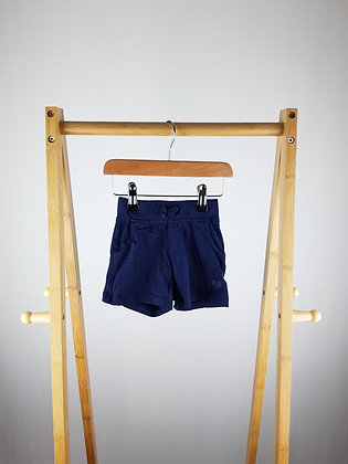 George navy shorts 12-18 months