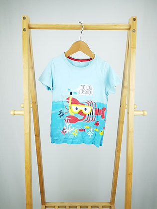 M&S too cool for skoool t-shirt 2-3 years