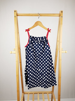 Bluezoo spotted dress 8 years