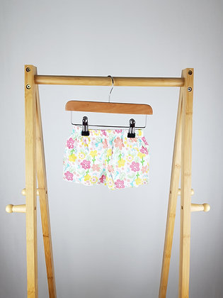 Mothercare floral shorts 0-3 months