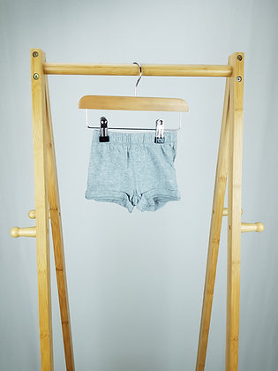 GAP grey shorts 3-6 months