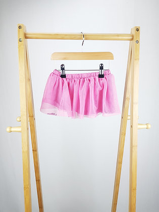M&S pink tulle skirt 18-24 months