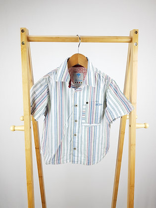 Fat face striped shirt 4-5 years