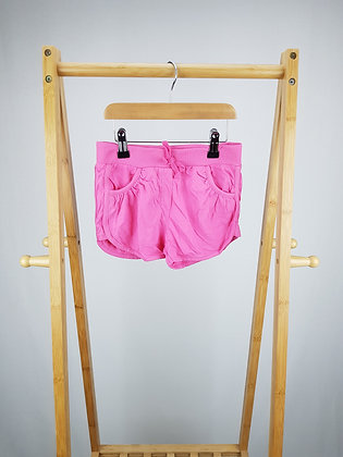 George pink shorts 7-8 years