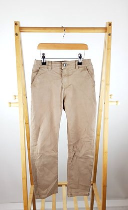 F&F sand colour trousers 9-10 years