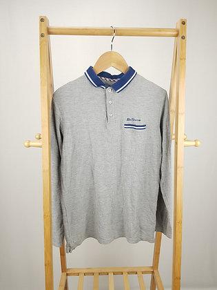 Ben Sherman long sleeve polo shirt  14-15 years