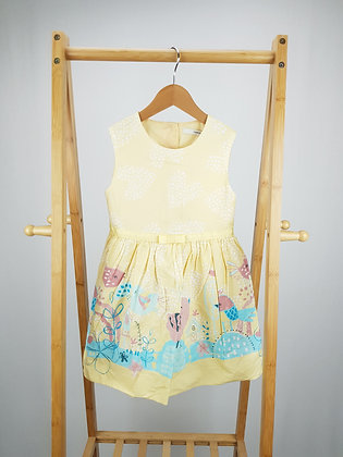 George yellow birdy dress 5-6 years