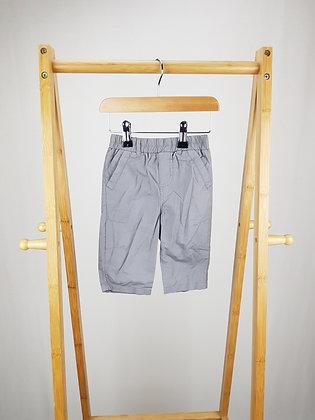 Grain de ble grey trousers 3-6 months