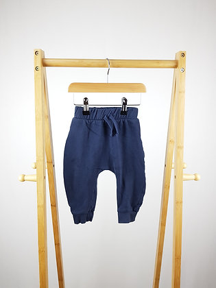 George navy joggers 9-12 months