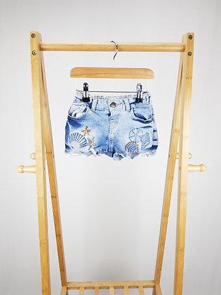 Mantaray embroidered denim shorts 5 years