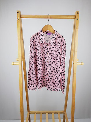 F&F horse print blouse 7- 8 years