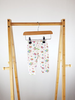 Babaluno floral leggings 0-3 months