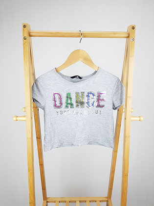 George dance sequin t-shirt 8-9 years