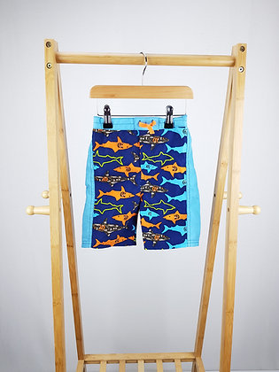 Absorba shark print shorts 3 years