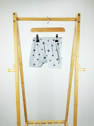 H&M star print shorts 6-9 months