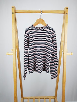 F&F ribbed long sleeve top 9-10 years