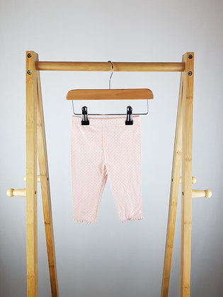 F&F spotted leggings 3-6 months