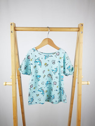 TU sea animals t-shirt 7 years