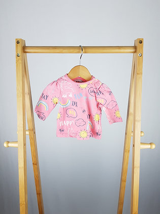 Nutmeg long sleeve top up to 1 month