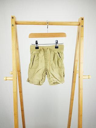 M&S beige shorts 18-24 months