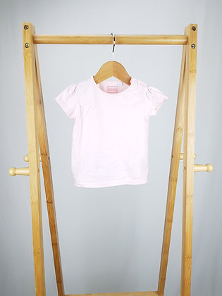 Bluezoo pink t-shirt 9-12 months