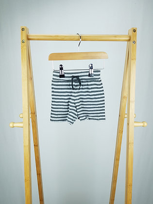 Disney at George striped shorts 3-6 months