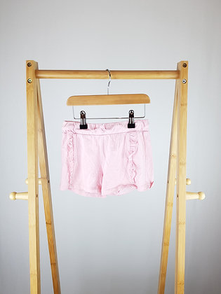 F&F pink shorts 4-5 years