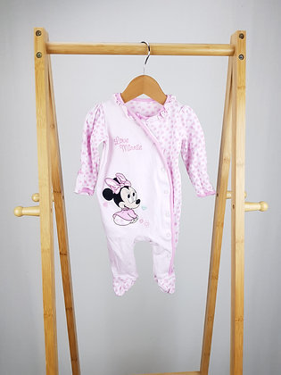 Disney at George Minnie Mouse sleepsuit 0-3 months