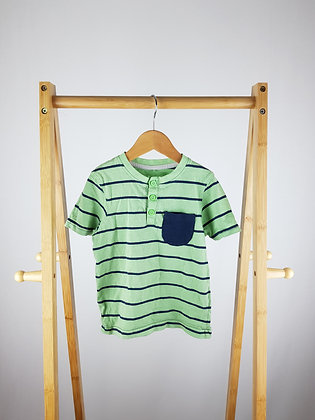 George striped t-shirt 3-4 years