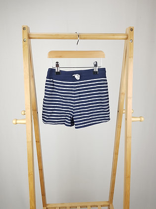 George striped shorts 6-7 years