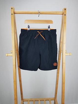 F&F black shorts 10-11 years