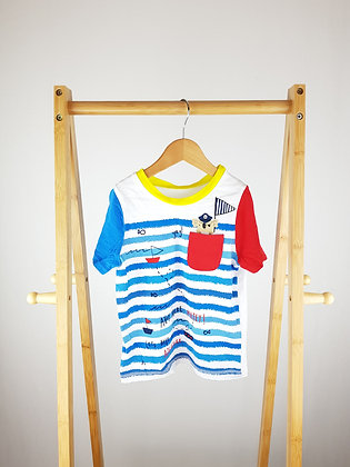 George nautical t-shirt 4-5 years