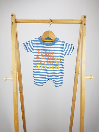 George lion romper first size
