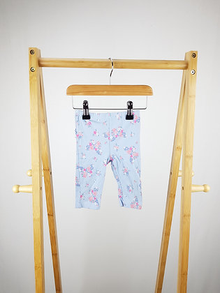 George floral frilled leggings 3-6 months