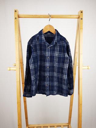 George corduroy tartan shirt 6-7 years