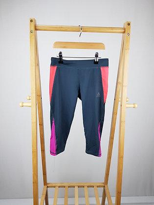 Adidas capri leggings 7-8 years