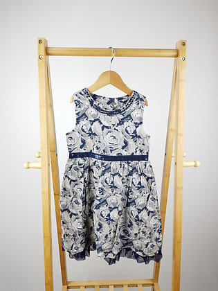 Mothercare rose print occasion dress 4-5 years