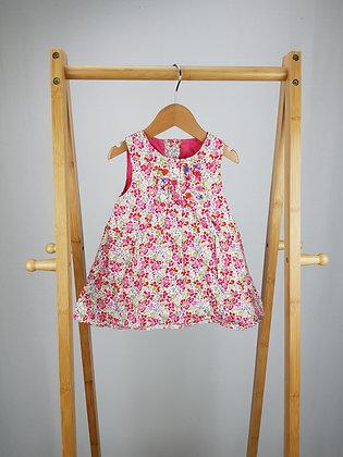Debenhams floral dress 3-6 months
