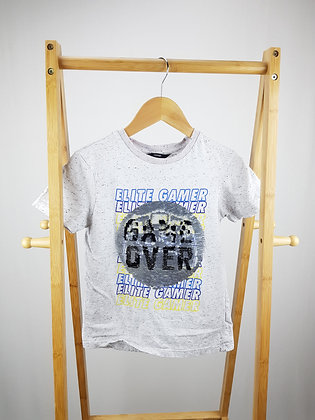 George game over flippy sequin t-shirt 9-10 years
