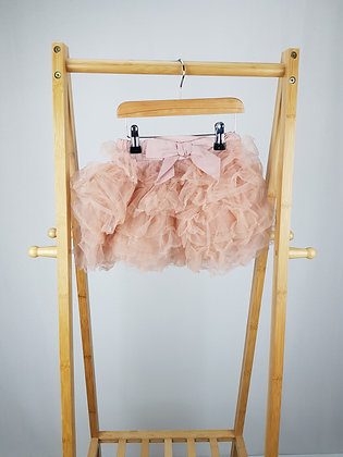 Next dusky pink layered tulle skirt 4-5 years
