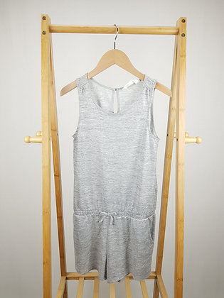 H&M silver playsuit 11-12 years