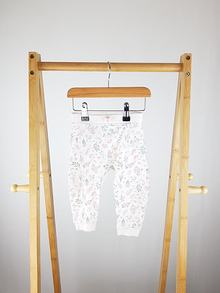 George floral joggers 9-12 months