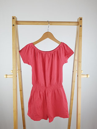 Nutmeg pink playsuit 7-8 years