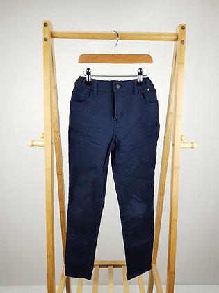 Denim Co navy skinny denim trousers 9-10 years