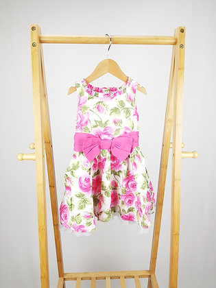 Evie angel floral dress 2-3 years